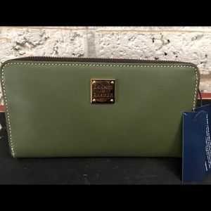 Dooney and Bourke triple compartment wallet